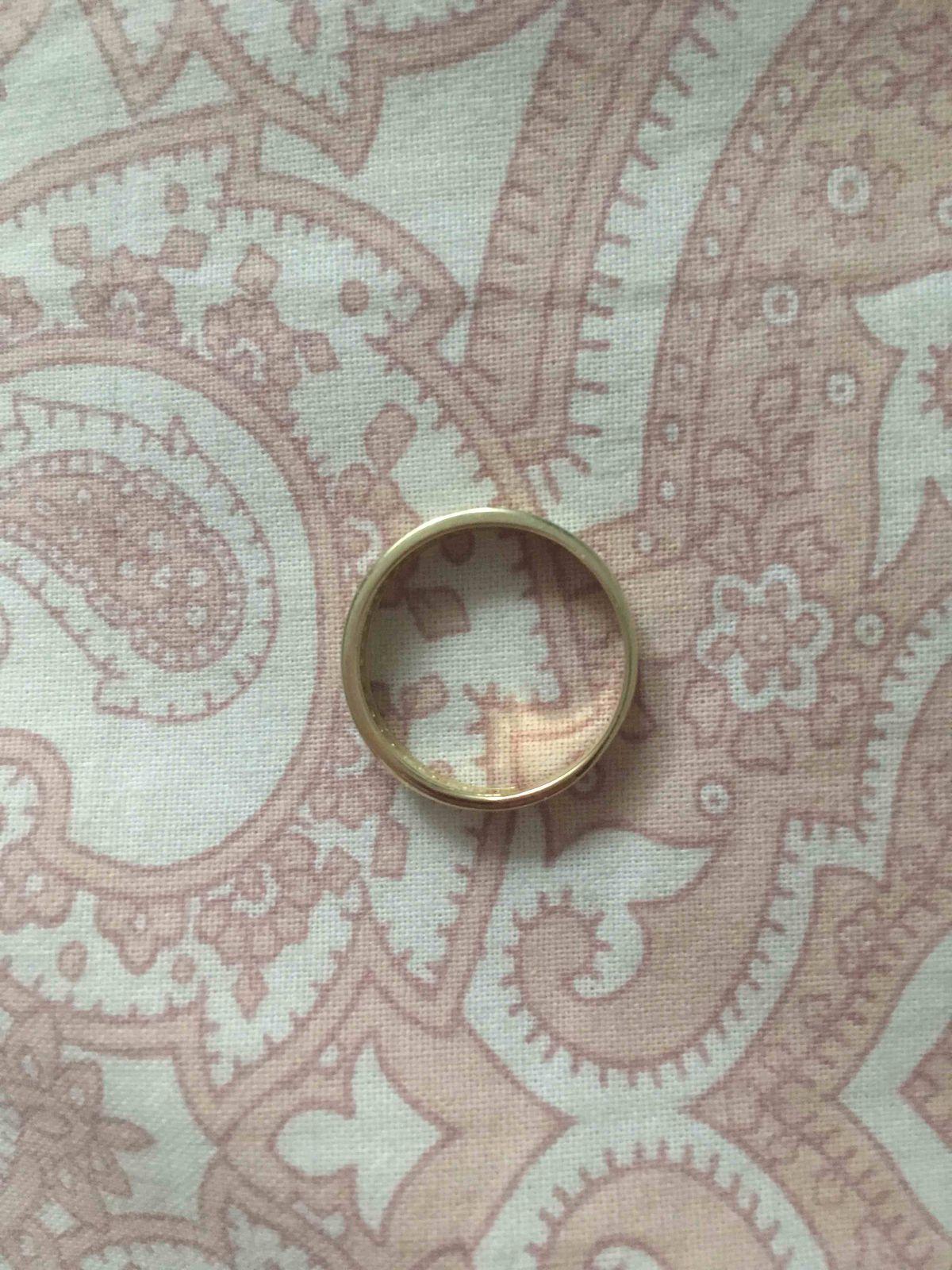 Кольцо взамен старого обручального