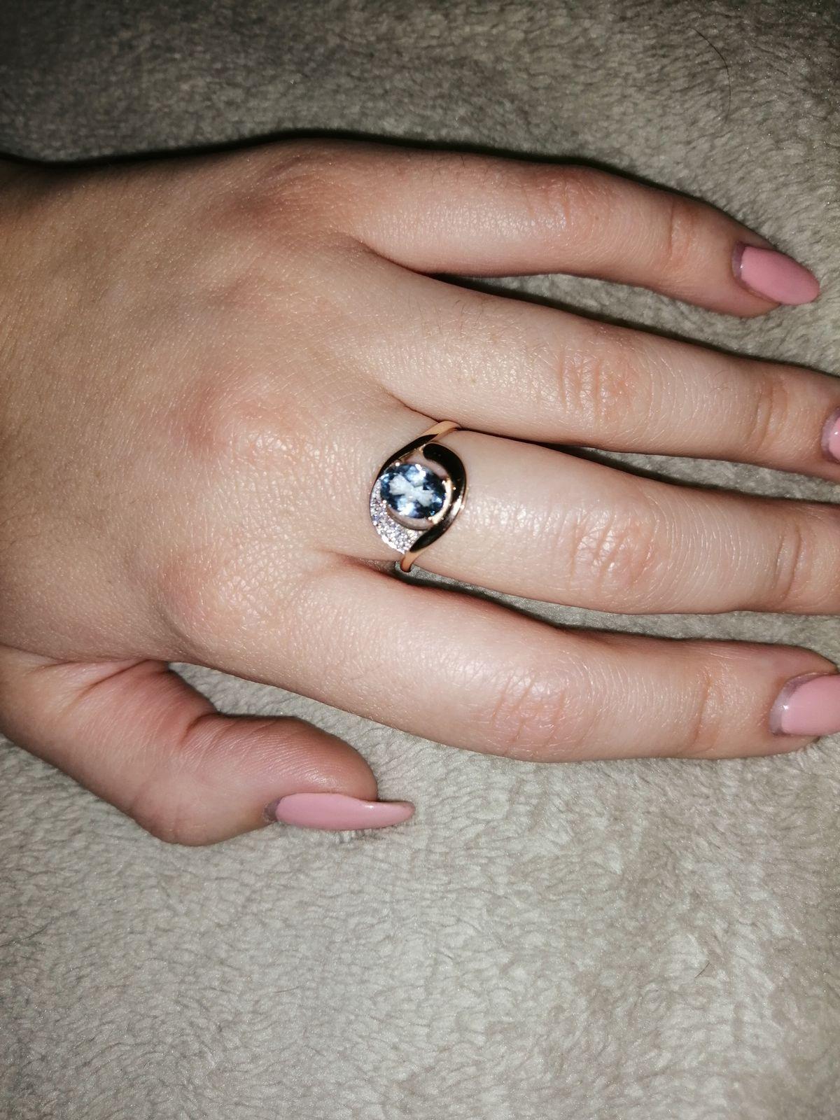 Очень красивое кольцо! Любовь с первого взгляда😍