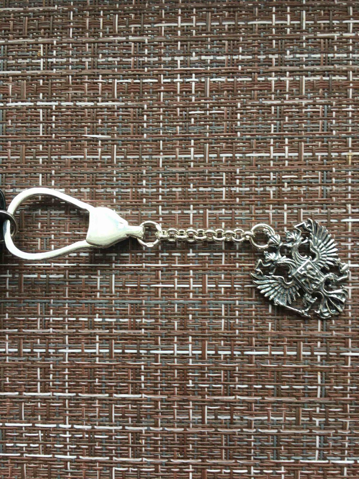 Серебрянный брелок