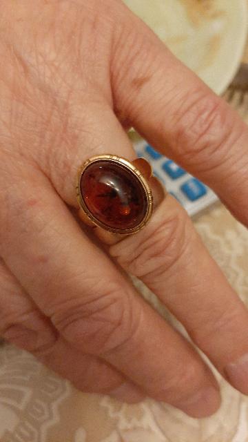 Покупала кольцо маме