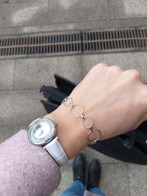Шикарный серебряный браслет❤Как мало все-таки женщинам нужно для счастья😍
