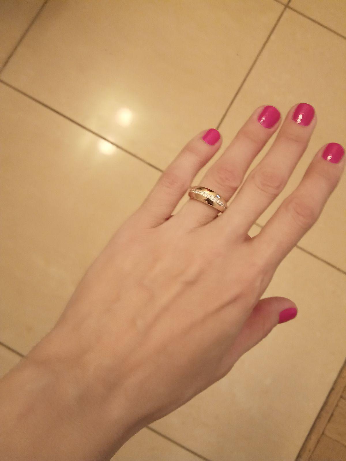 Очень модное и стильное кольцо!