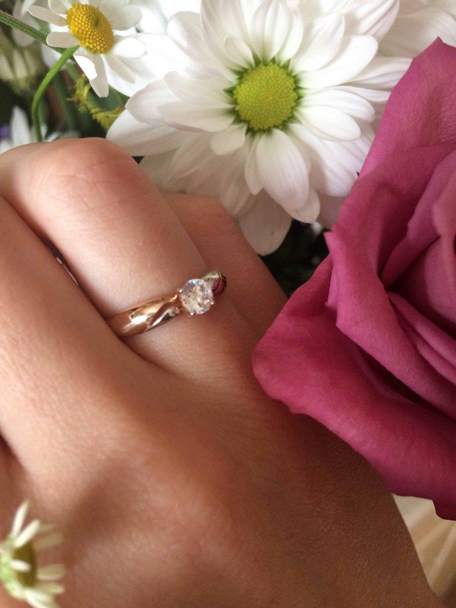 Красивое кольцо с большим минусом