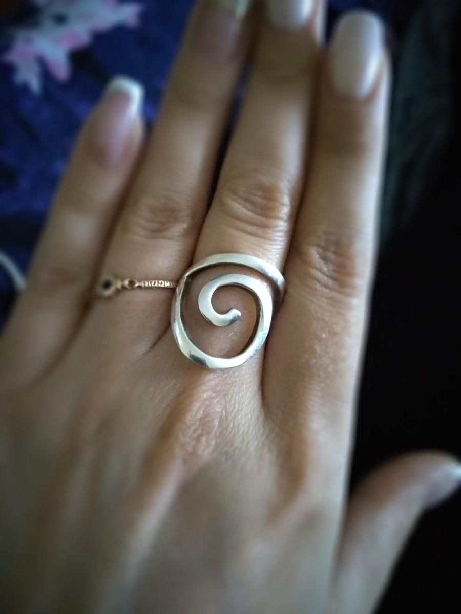 Кольца спираль