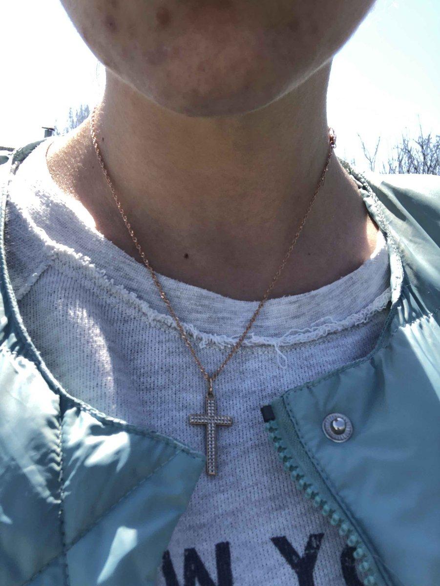 Стильный крестик