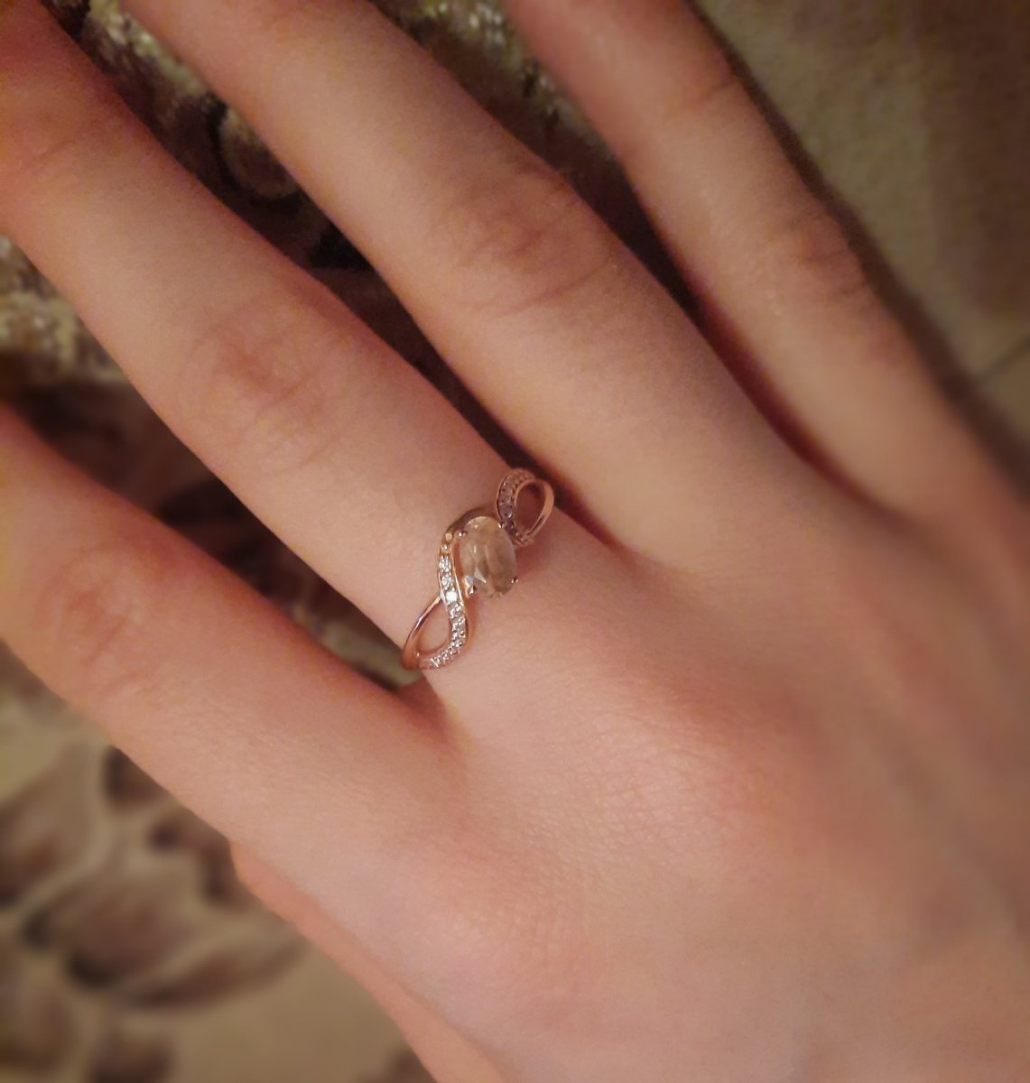 Кольцо потрясающее!