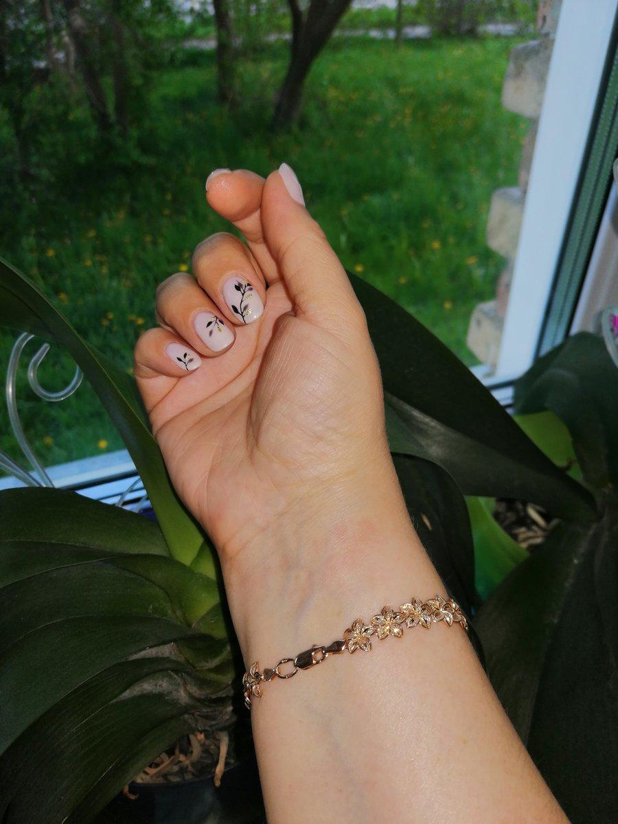 Цветочный браслет