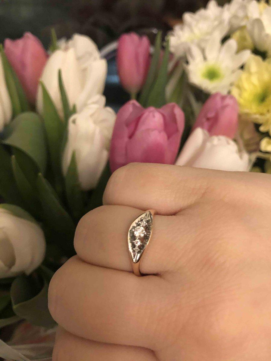 Ослепительно красивое кольцо!