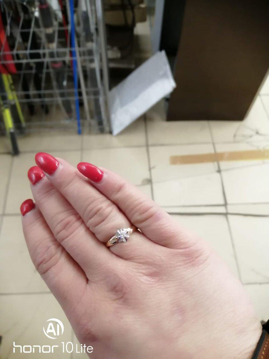 Заказ кольцо с фианитом