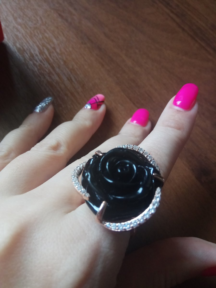 Моя черная роза❤