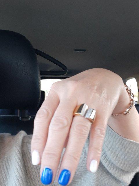Обручальное кольцо для Лены.