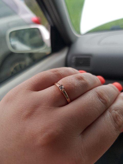 Потрясное недорогое кольцо