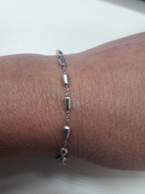Серебрянный браслетик.
