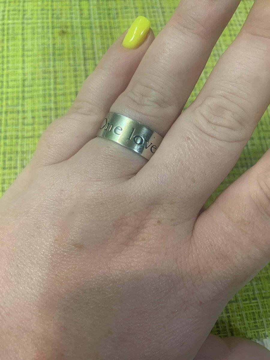 Прикольное кольцо .