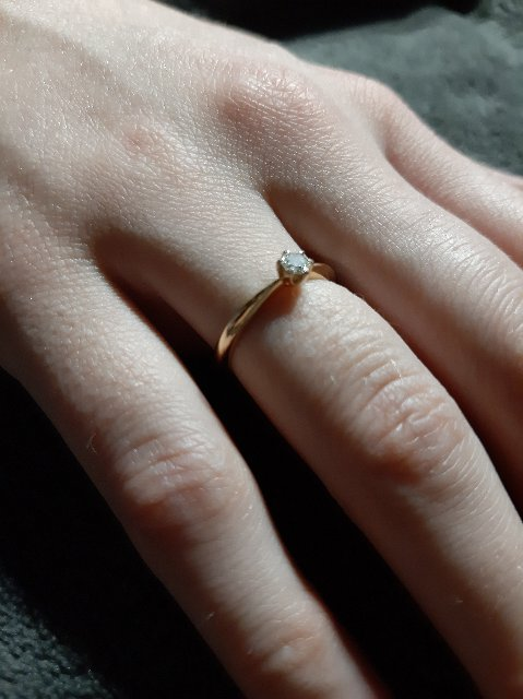 Пожалуй, лучшее кольцо для предложения!