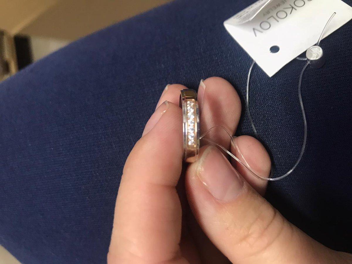 Заказал кольцо