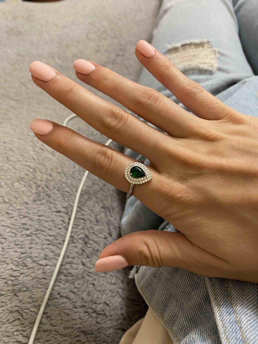 Очень понравилось кольцо, не разочаровалась