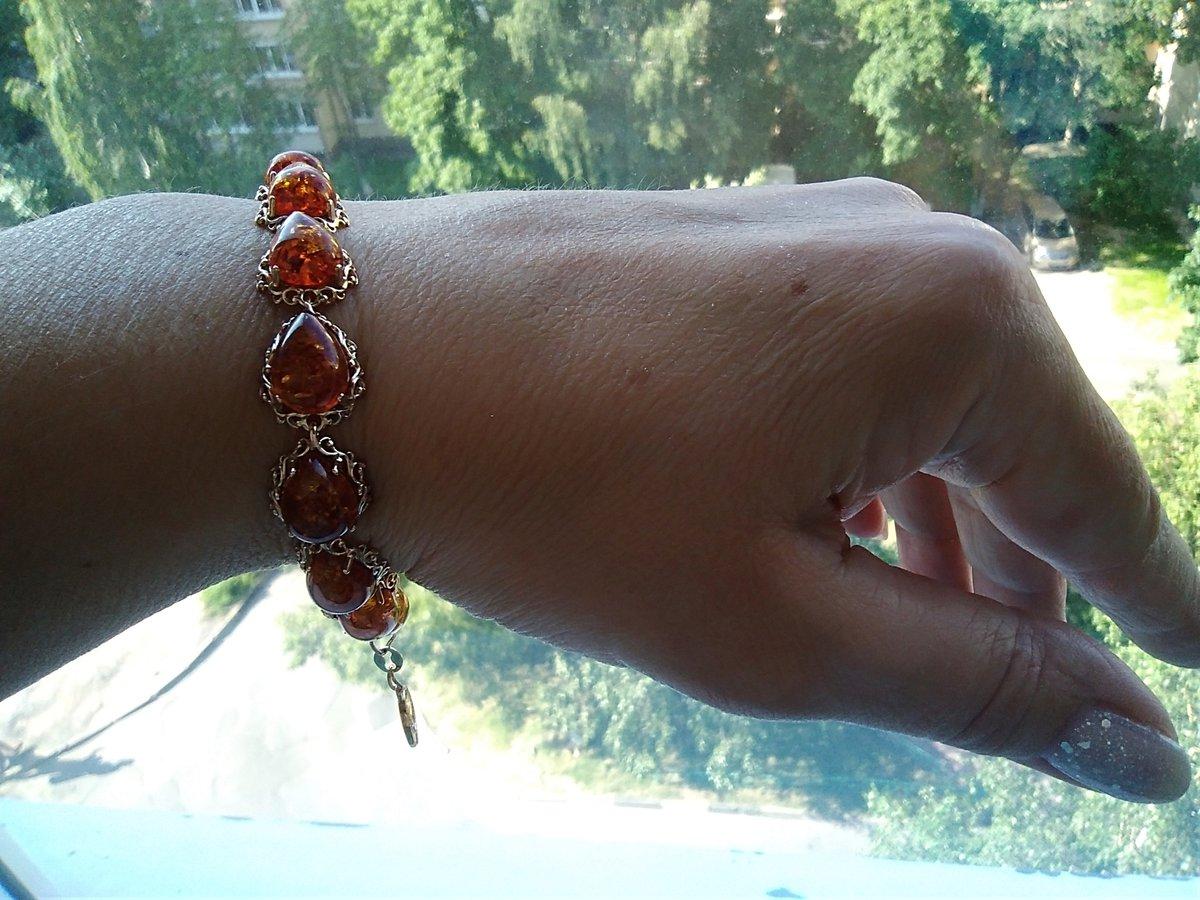 Яркое летнее украшение с изысканным невероятно красивым натуральным янтарем