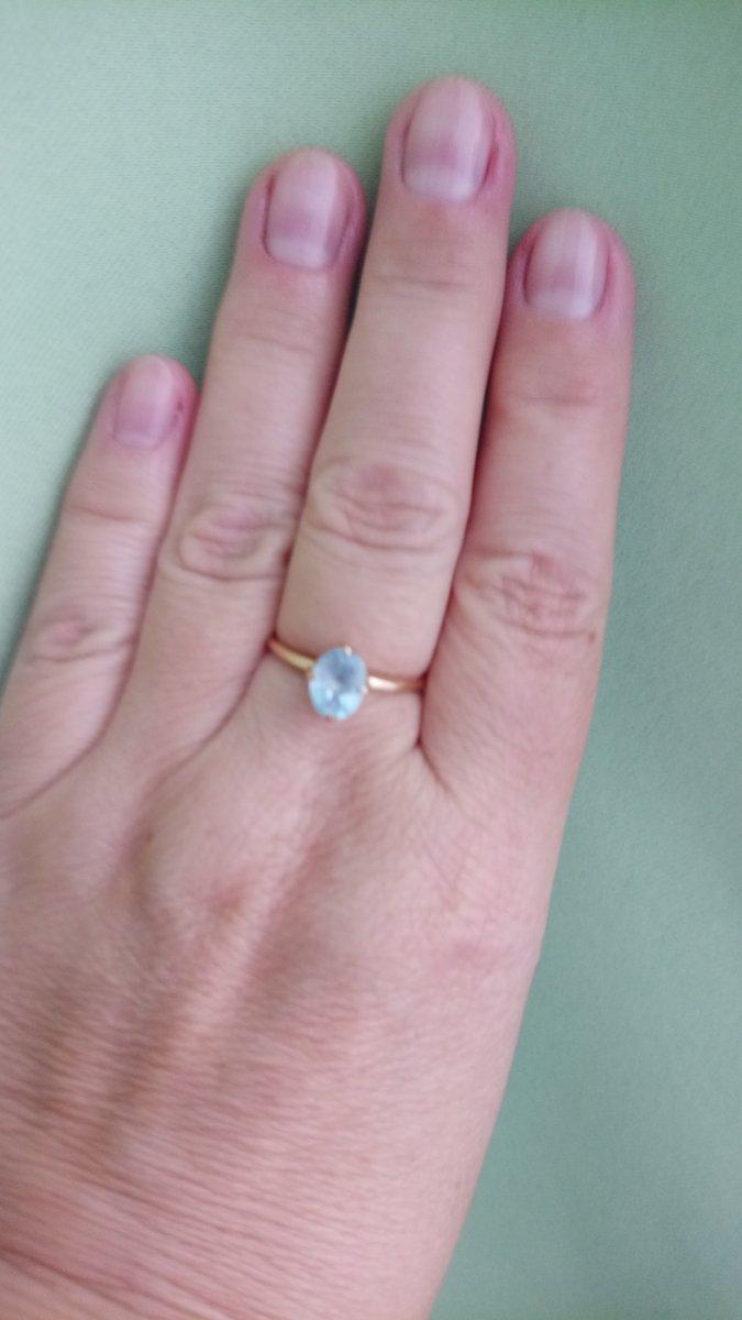 Отзыв о кольце с топазом