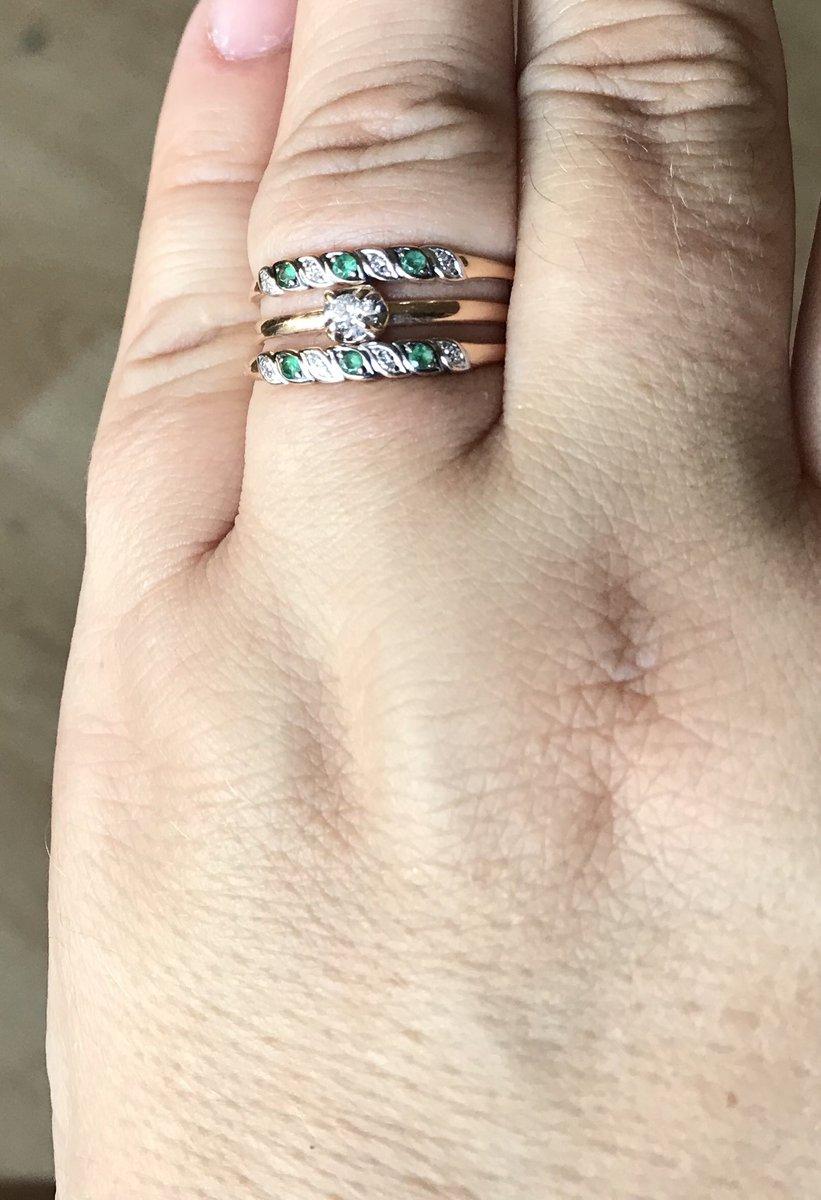 Милый изумрудно-бриллиантовый комплект на повседневку и в офис и на море!