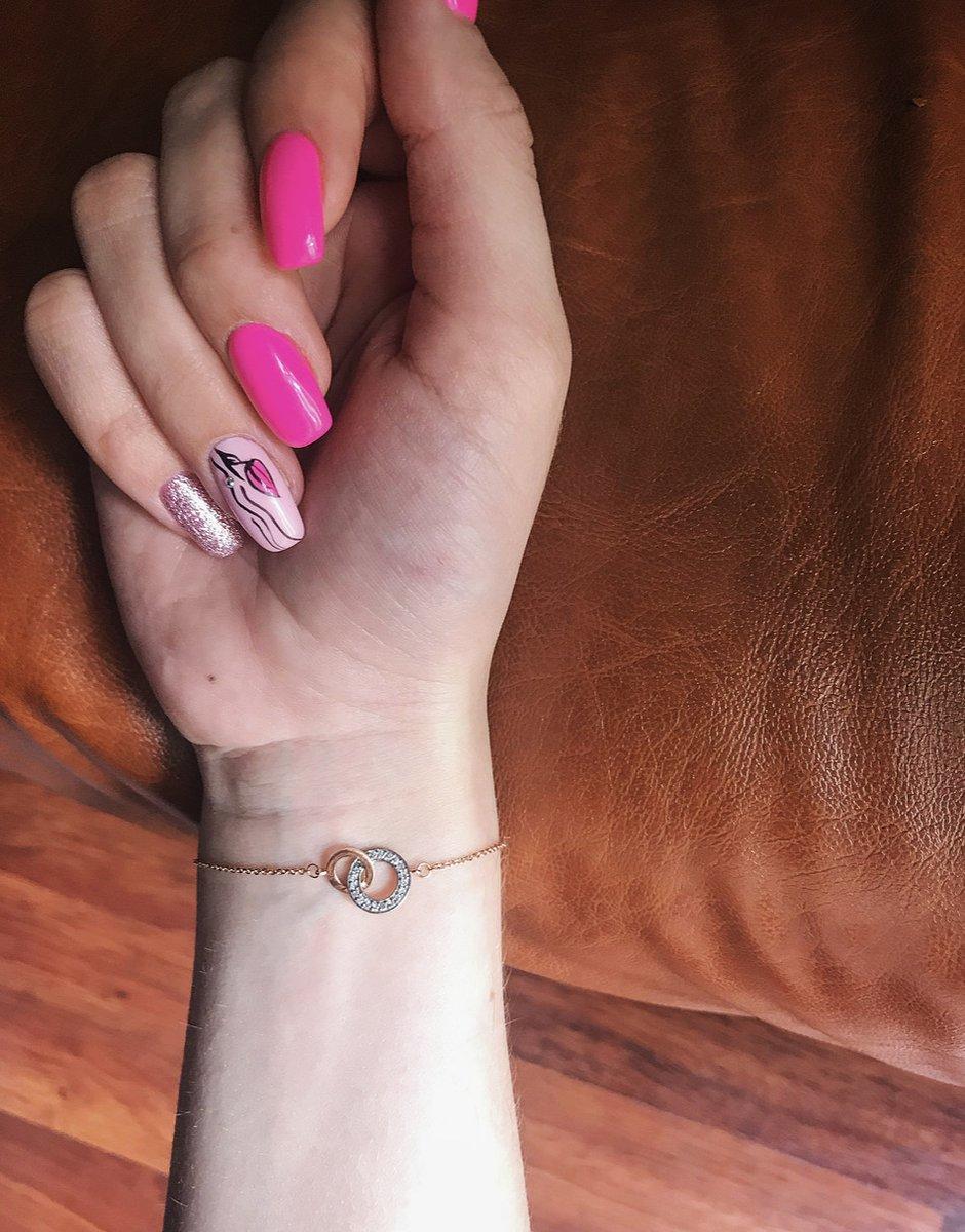Браслет с бриллиантовой крошкой ❤️