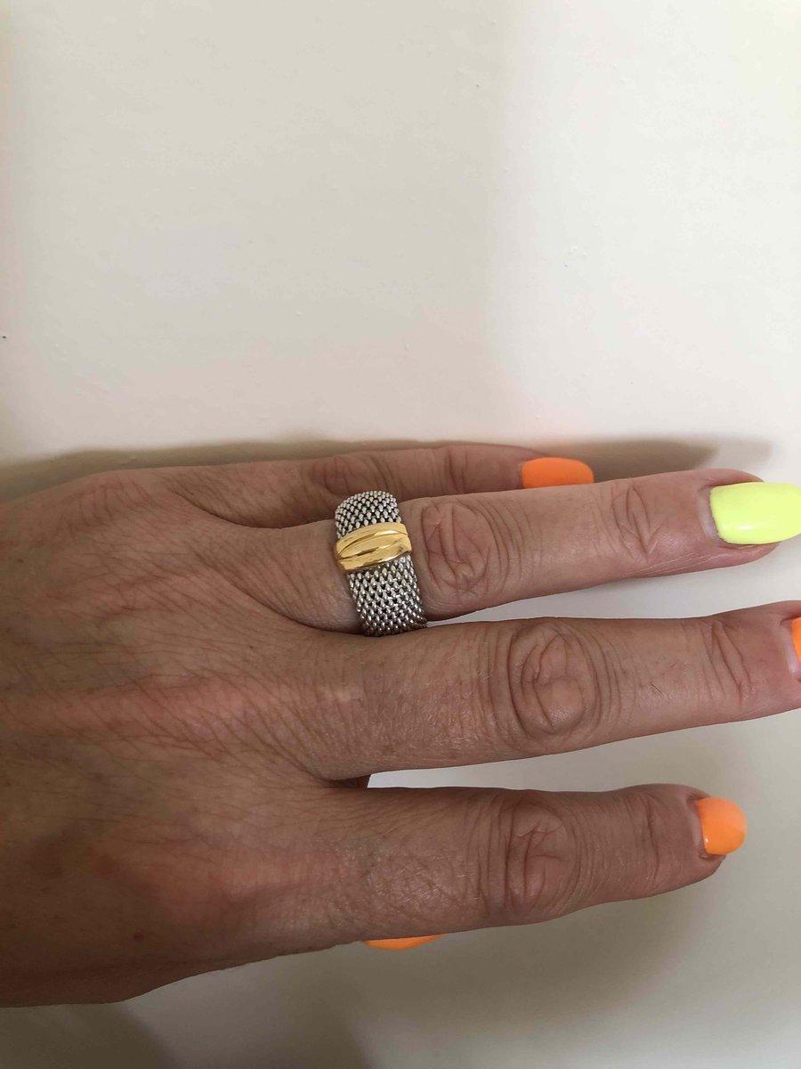 Прекрасное кольцо от итальянскиги производителя!