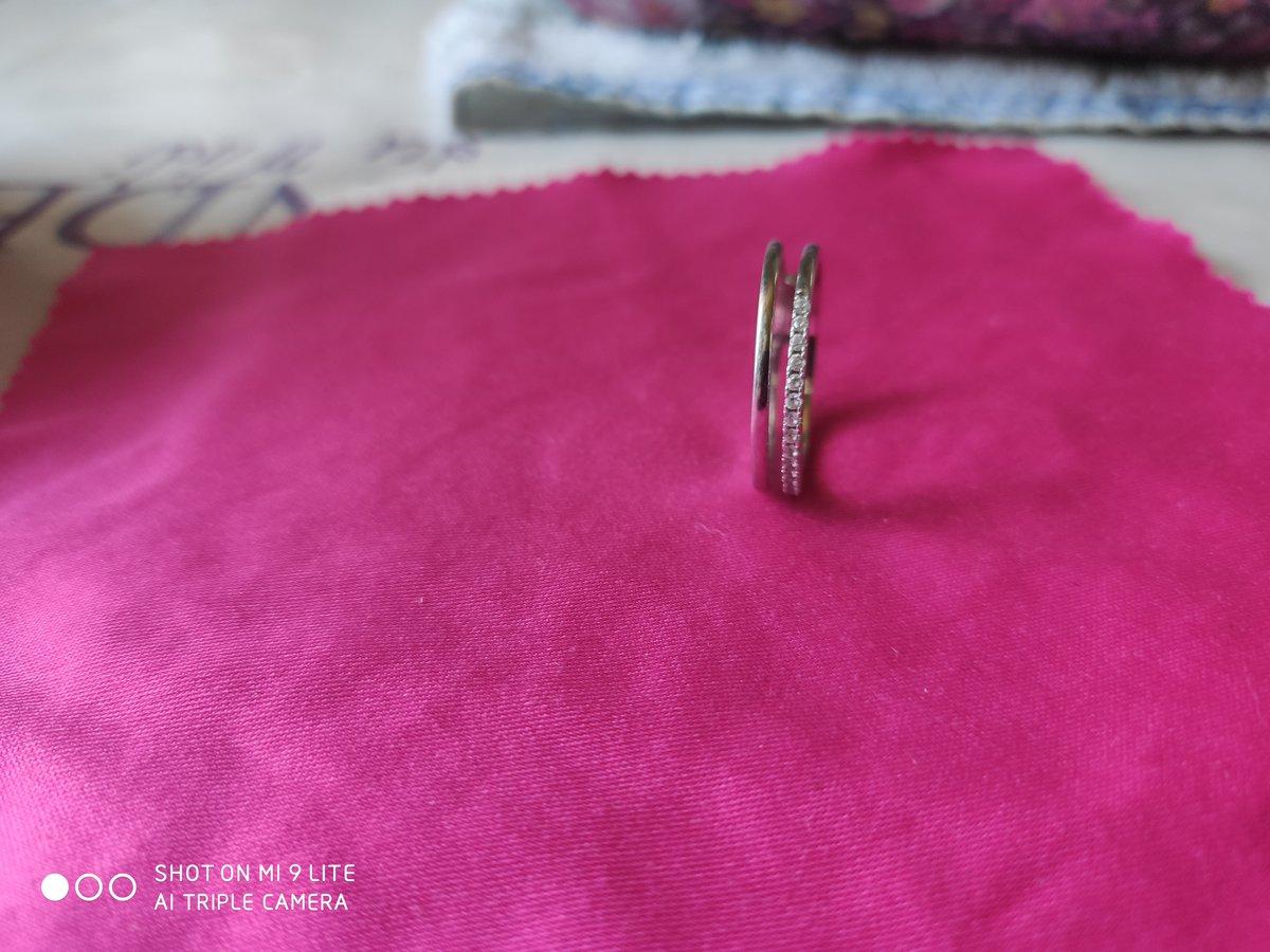 Кольцо 18 размер серебряное