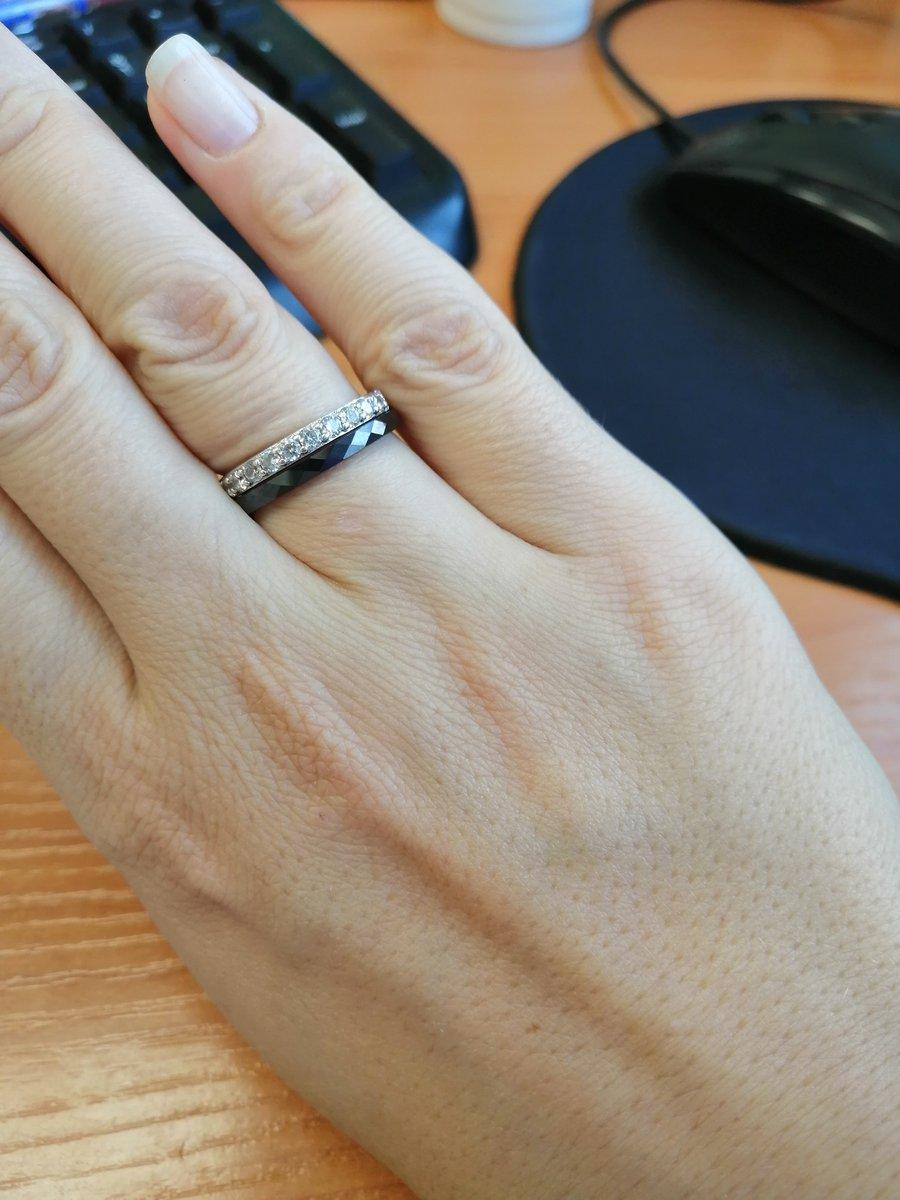 Удобное и красивое кольцо