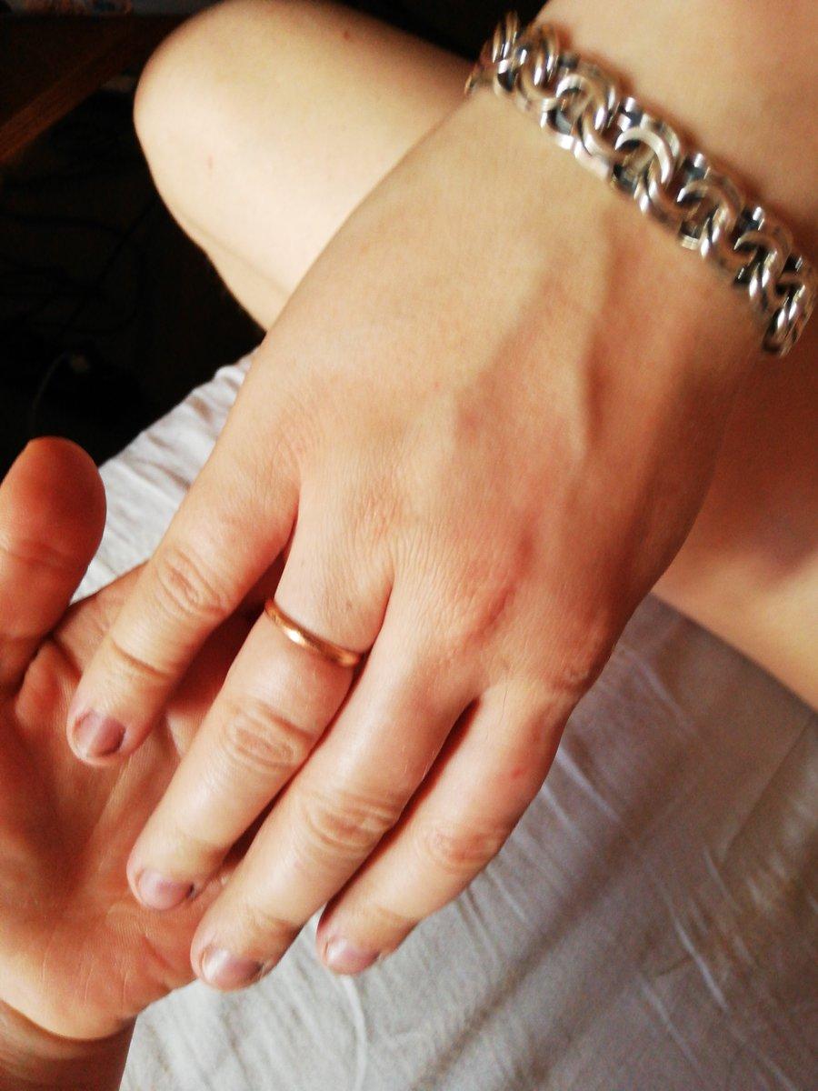 Обручальное кольцо мужское