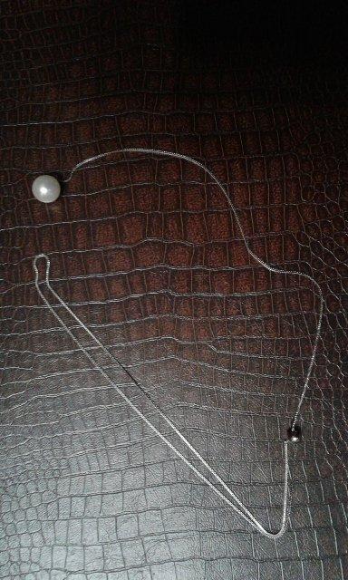 Ожерелье с жемчужиной