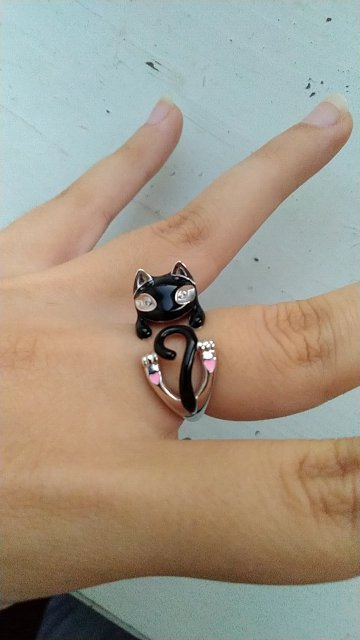 Кольцо котёнок