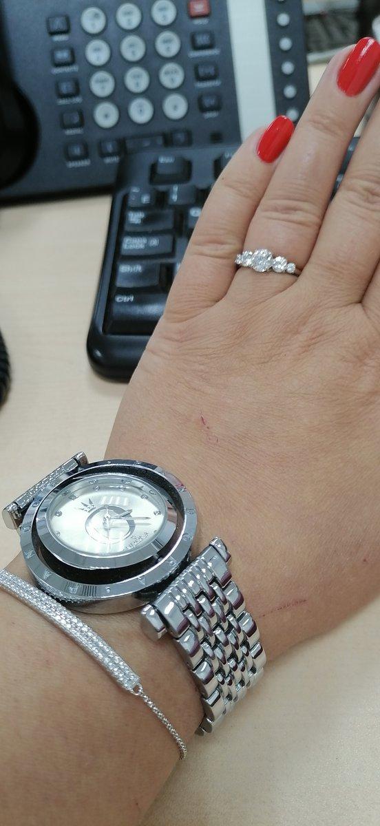 Милый серебряный браслет :)