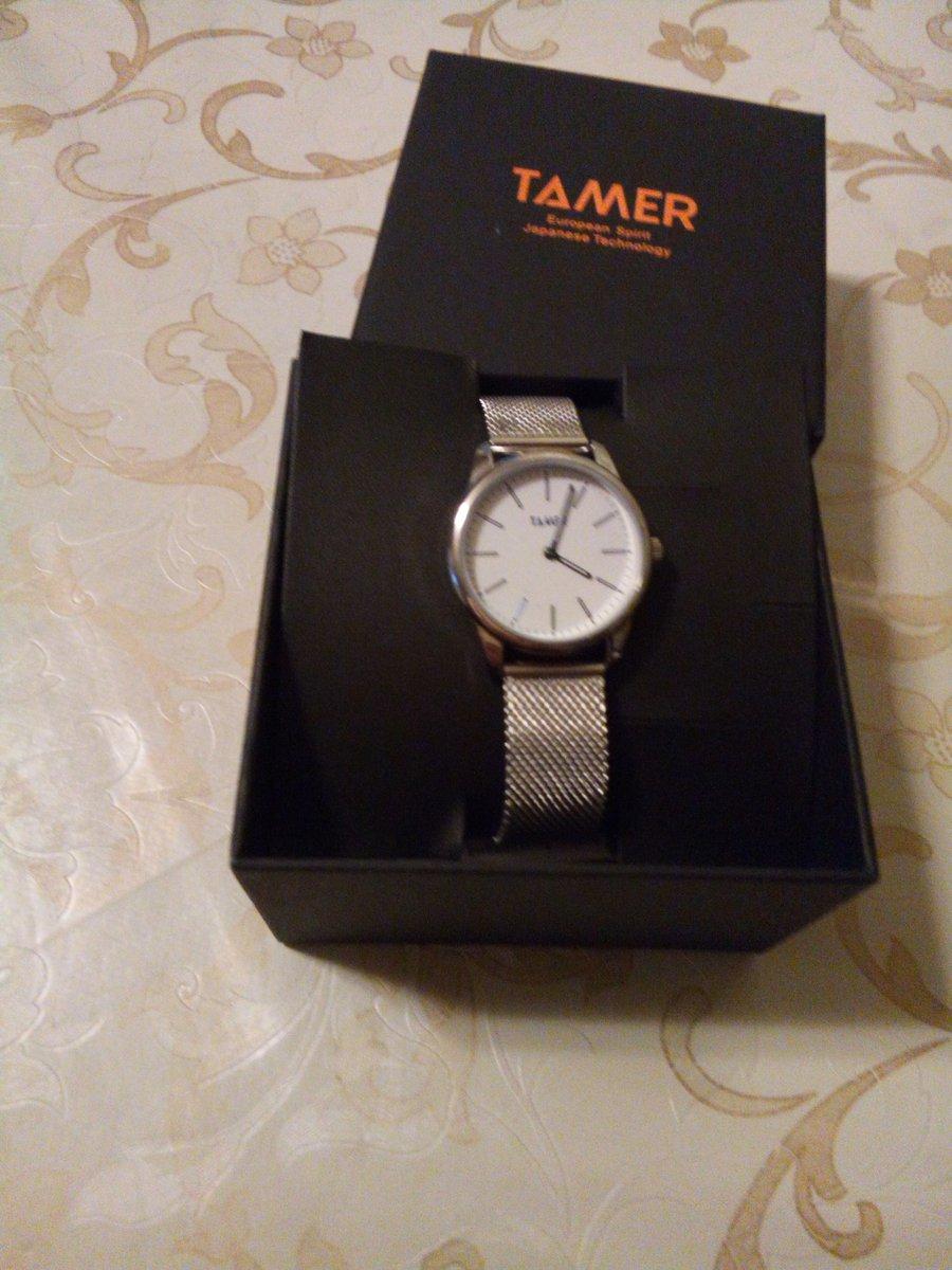 """Часы """"тамер"""" на """"миланском"""" браслете."""