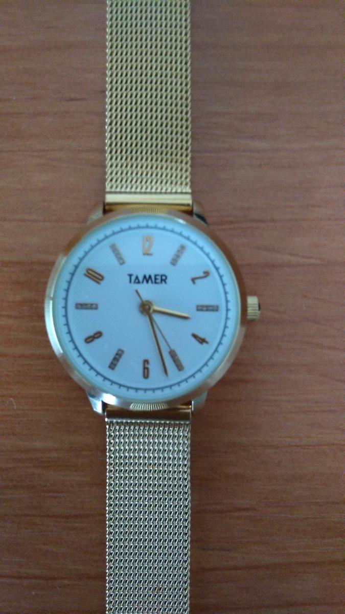 Часы с красивым браслетом!