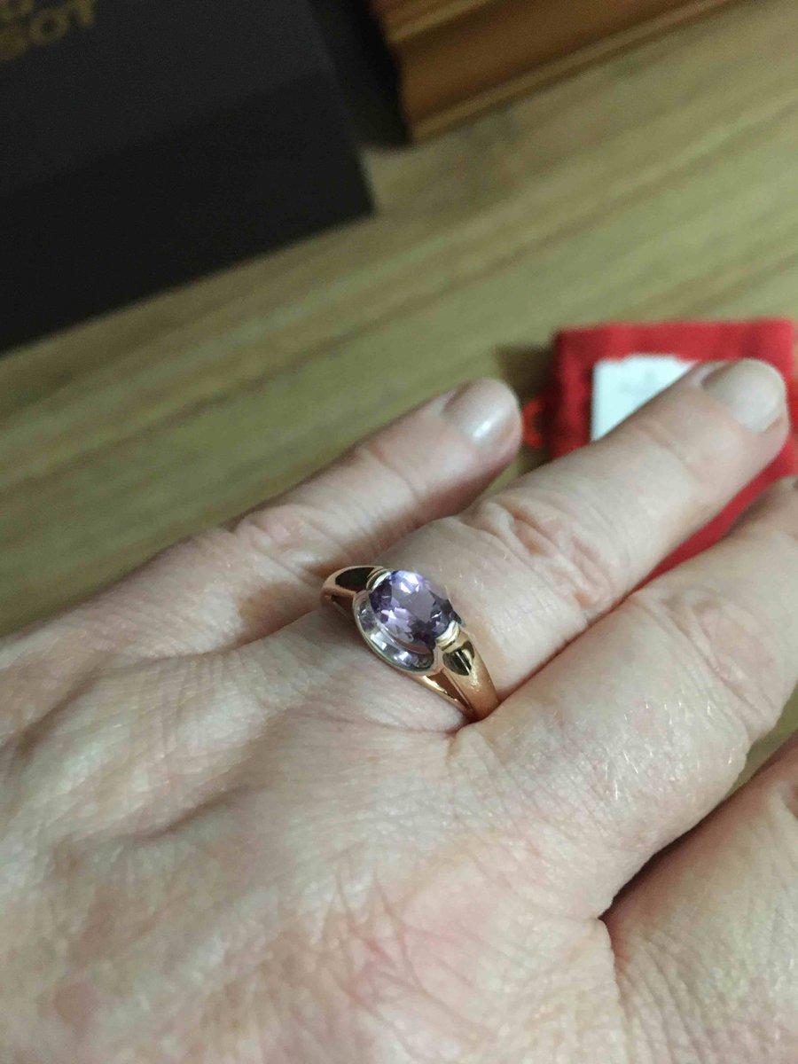 Кольцо с аметистом 1 -143 кар
