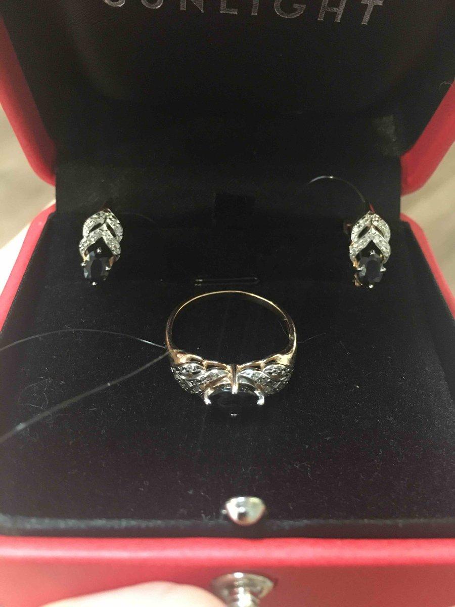 Самое красивое кольцо с сапфиром