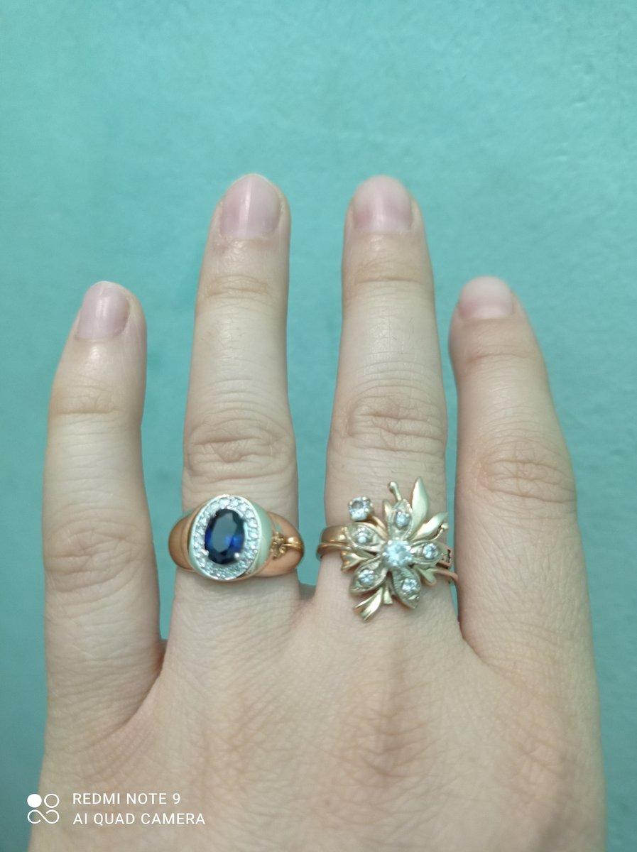 Кольцо очень красивая камушки блестять спасибо за доставку я давно хотела