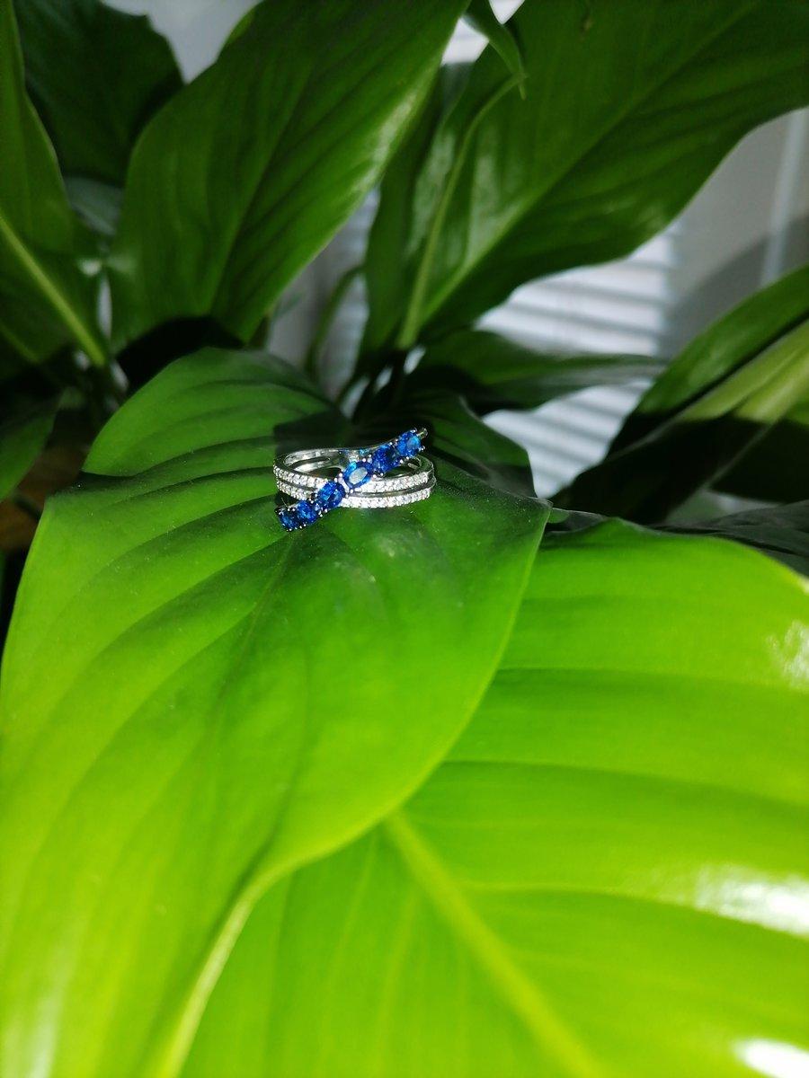 Довольна покупкой красивого  кольца  в любимом магазине с хорошей скидкой!!