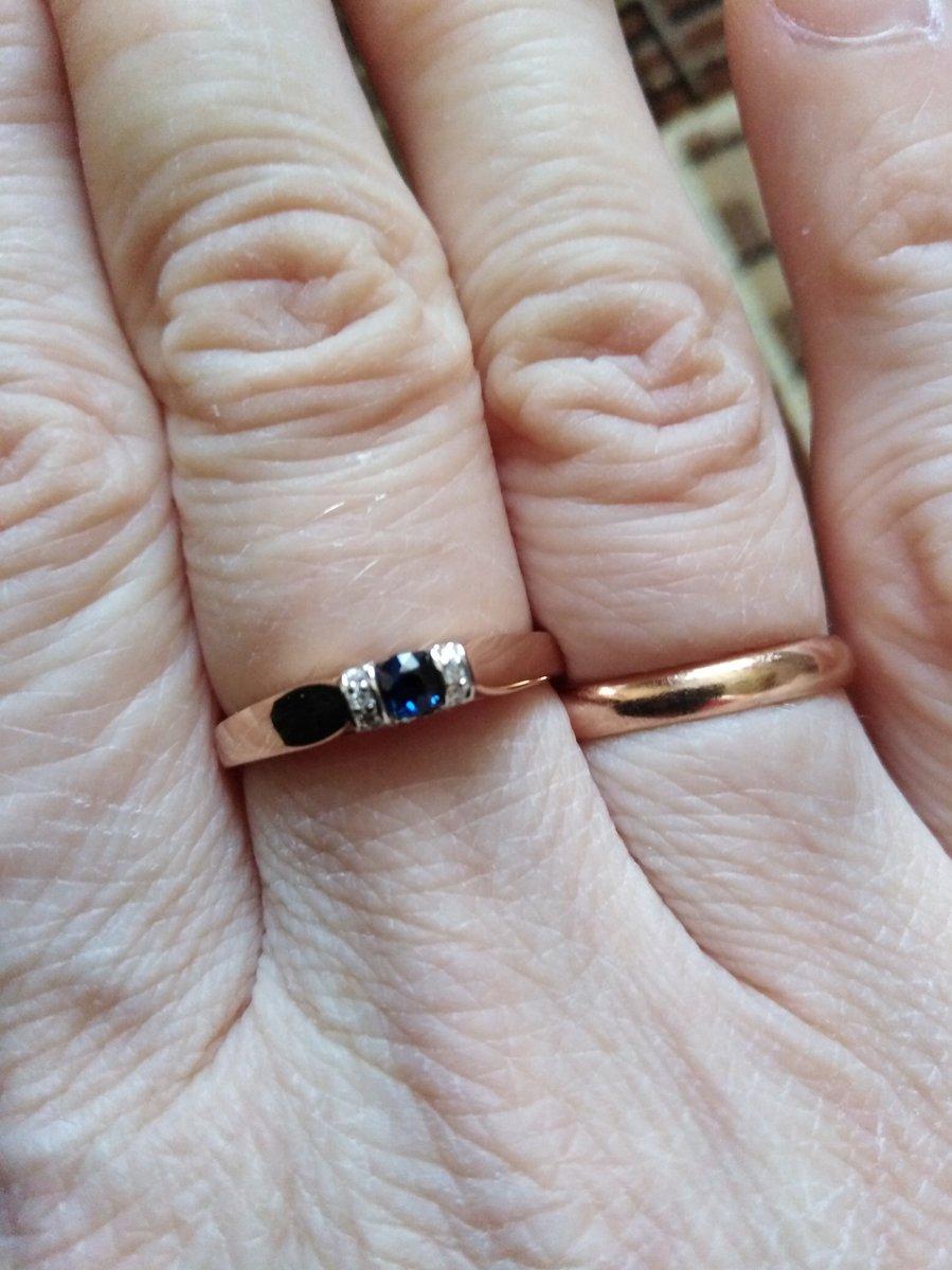 Очаровательной кольцо.