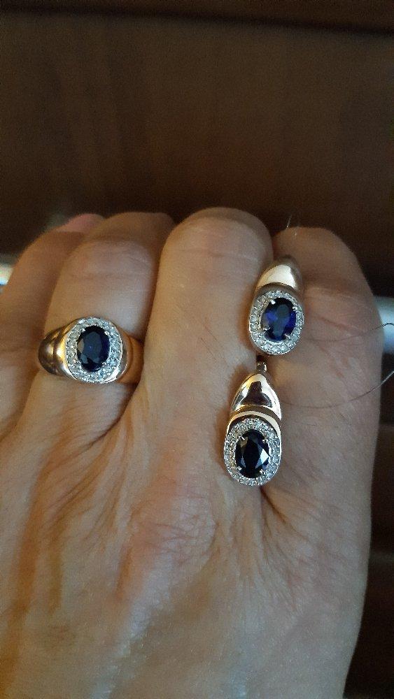 Я очень хотела украшения с драгоценными камнями. и вот наконец-то и купила.