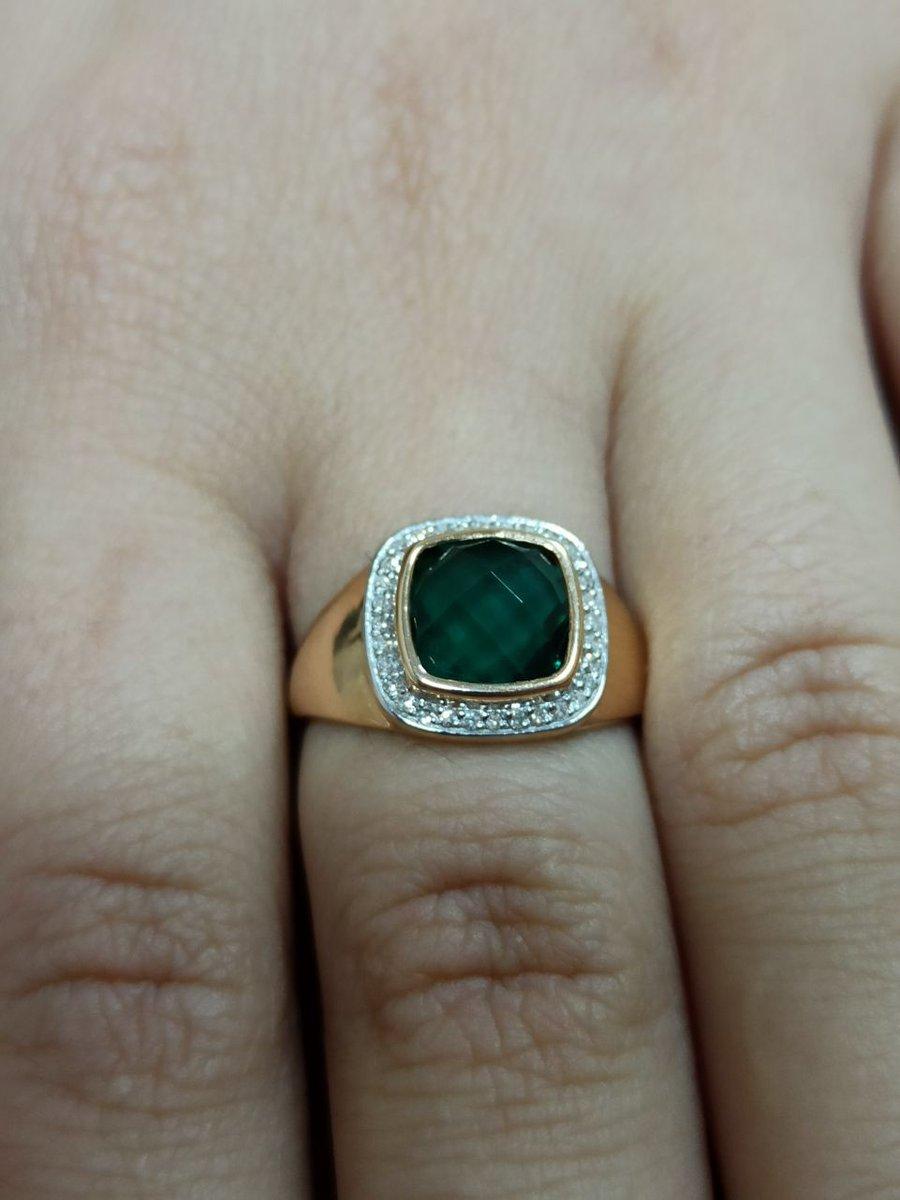 Кольцо из набора для супруги