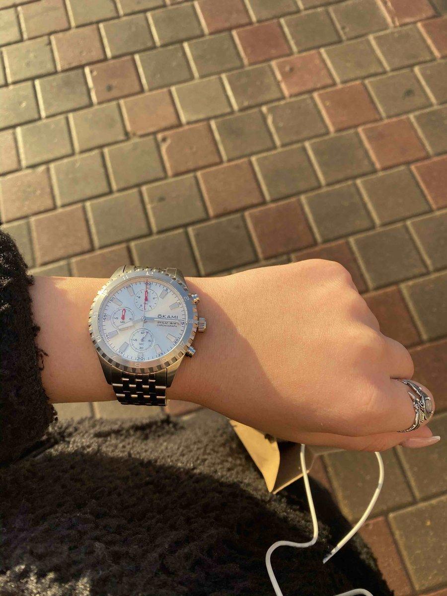 Часы от известного бренда