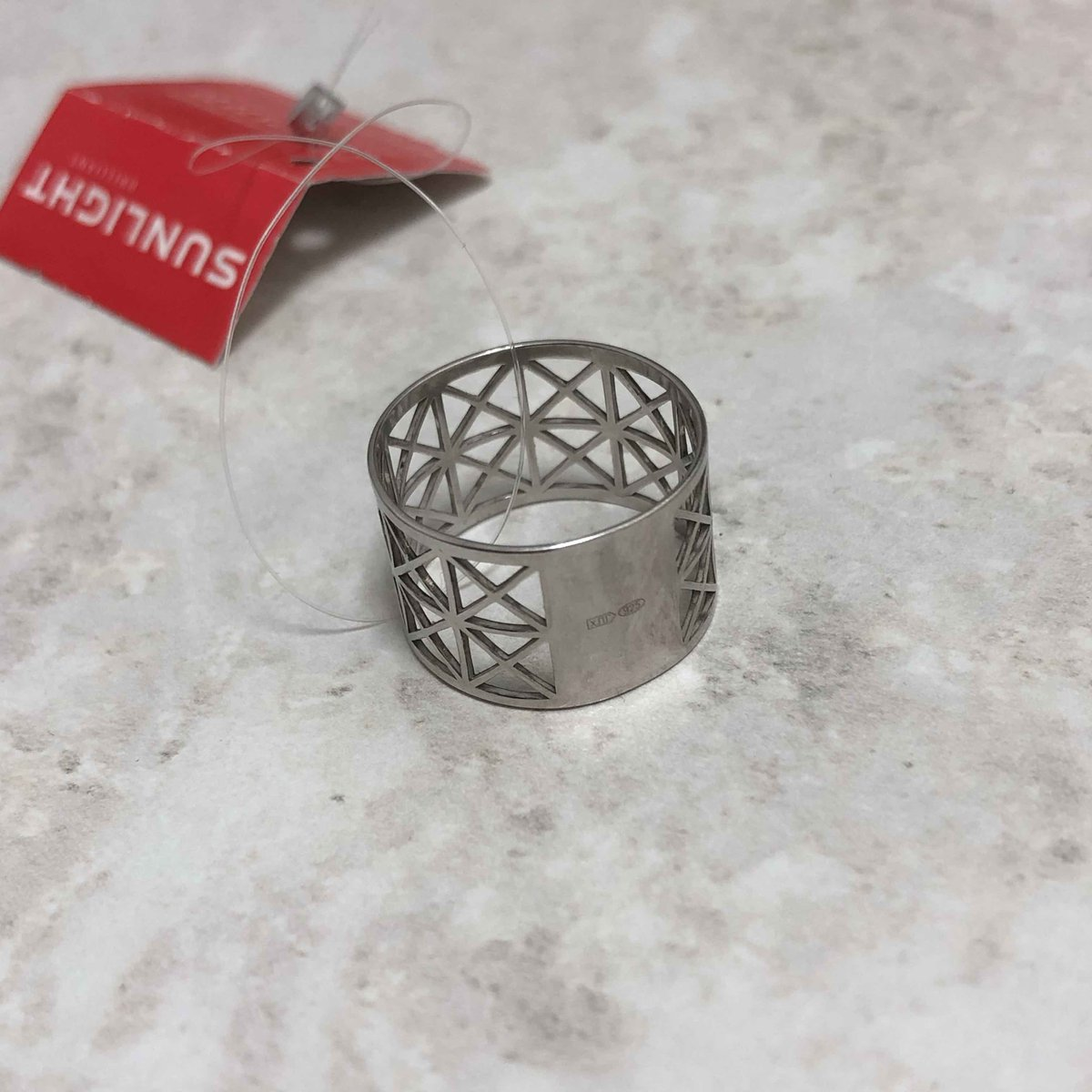 Кольцо. серебро