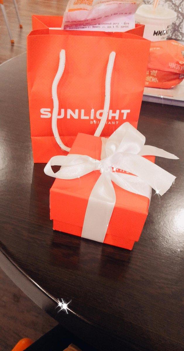 Серьги + коробочка в подарок