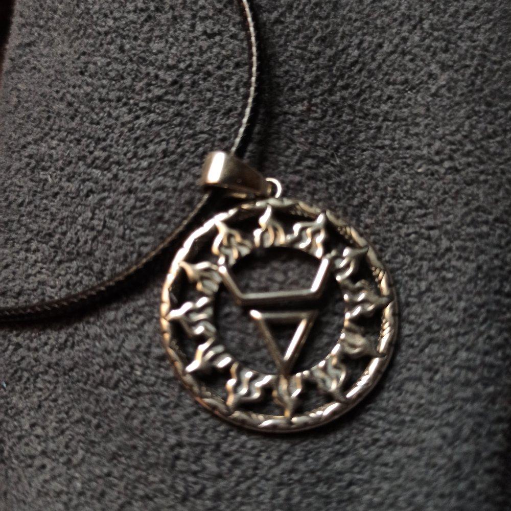 """Серебряная подвеска- оберег """" символ велеса"""" это прекрасный подарок мне"""
