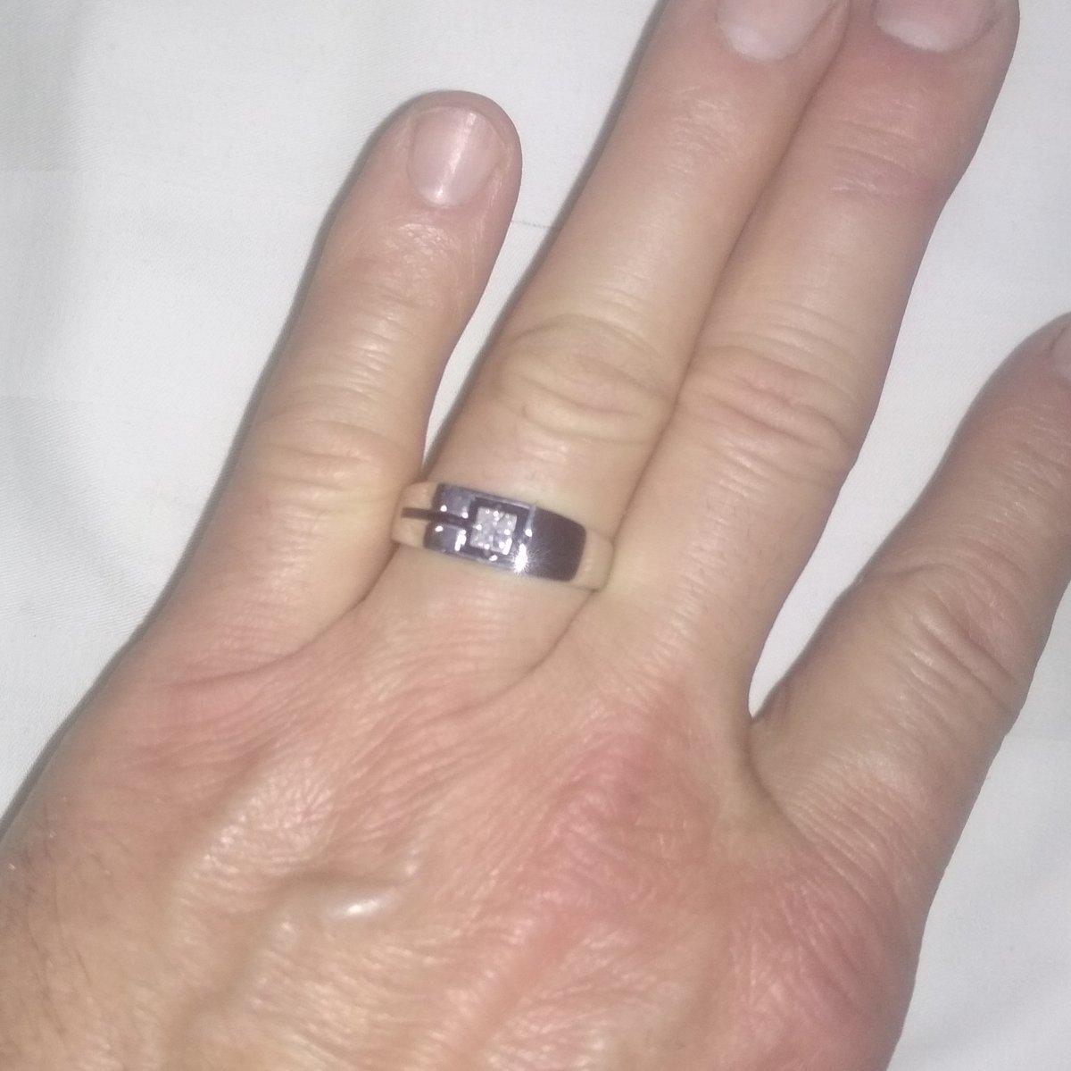Серебряное кольцо с феанитом