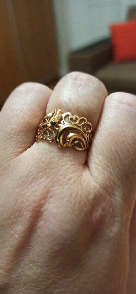 Ажурное невесомое колечко