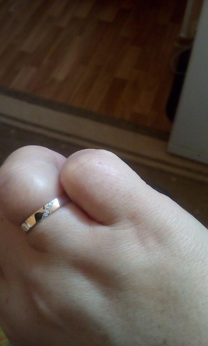 Отзыв о золотом кольце с четырьмя брильянтиками