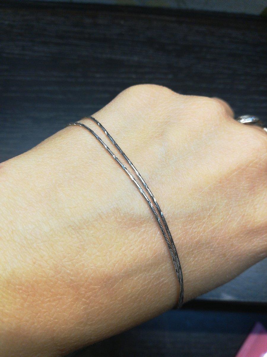 Серебряная цепочка с интересным плетением