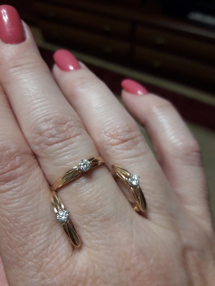 Кольцо и сеньги
